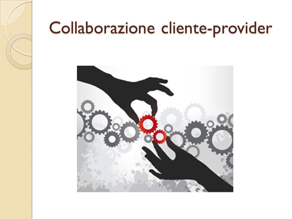 Collaborazione cliente-provider