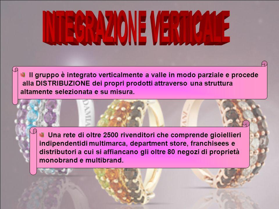 Damiani Offre pezzi unici di prodotti riservati ad una clientela raffinata e di alta qualità Salvini Caratterizzato da linee semplici destinato alla q