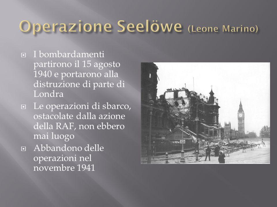 10 luglio 1943 sbarco alleato sulle coste della Sicilia che raggiungono poi Palermo 3 agosto 1943 a Cassibile firmato armistizio con le potenze alleate reso noto l8 settembre Cassino 17 febbraio 1944: lesercito americano occupò le postazioni nemiche Anzio 23 maggio 1944: le truppe anglo – americane sfondano la linea Gustav ed entrano a Roma il 4 giugno 1944 25 aprile 1945: grande offensiva partigiana e alleata che liberò le maggiori città italiane 29 aprile 1945: resa delle forze tedesche in Italia