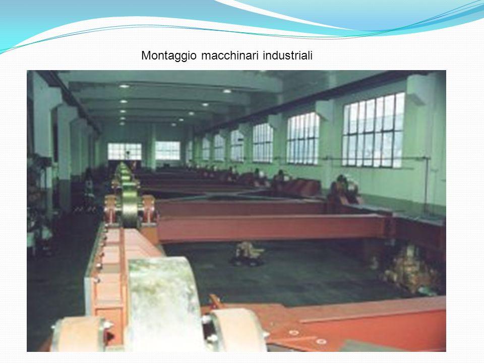 Montaggio macchinari industriali