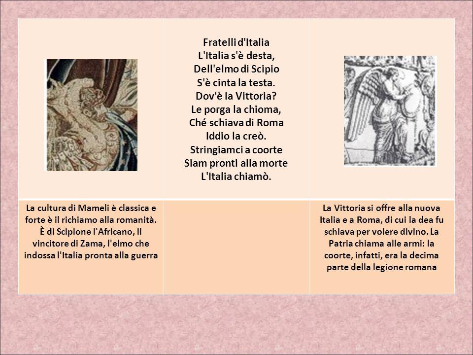 FRATELLI D'ITALIA Inno di Mameli o Il Canto degli Italiani Scritto nell'autunno del 1847 (versione originale)