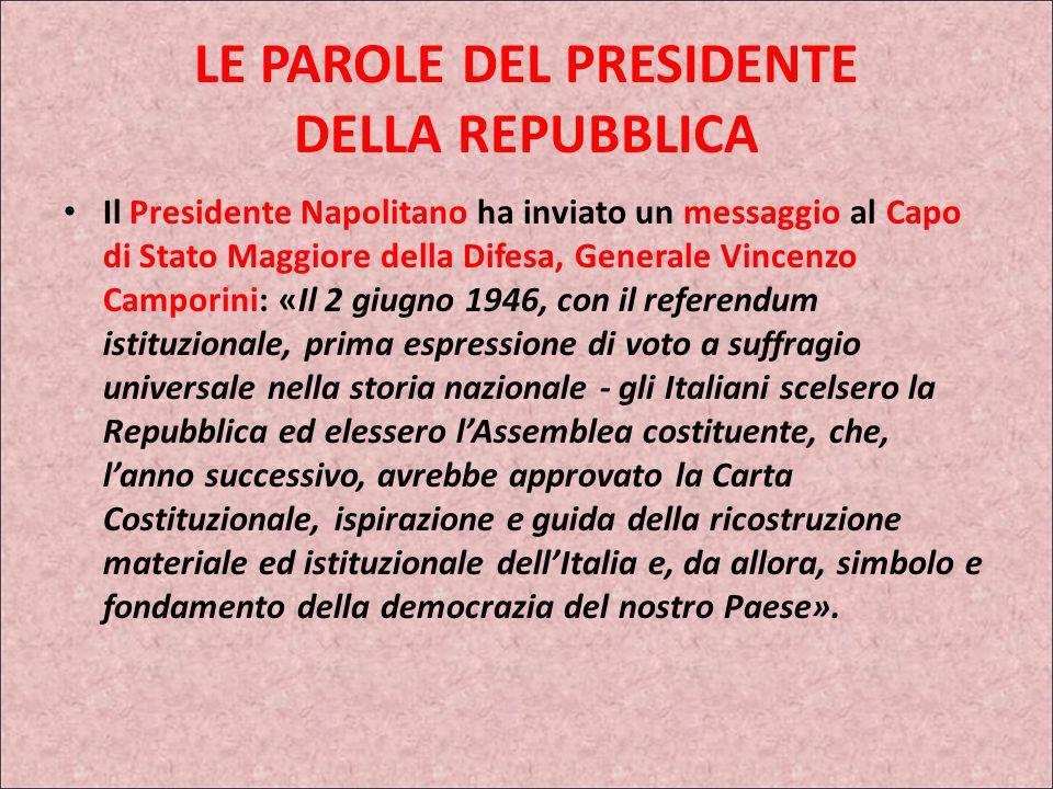 2 GIUGNO 2008 Il Presidente della Repubblica Giorgio Napolitano si è recato stamani allAltare della Patria, dove ha deposto una corona dalloro sulla t