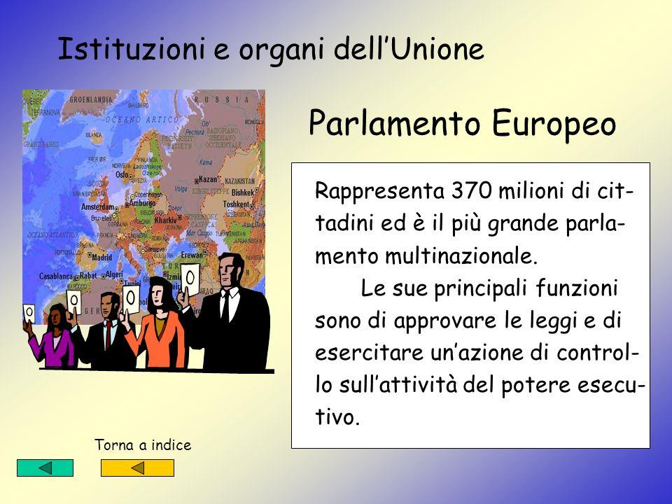 Anno 1993 la C.E.E. si trasforma in UNIONE EUROPEA I quindici Paesi che oggi fanno parte del- lUnione sono : Austria, Belgio, Svezia Danimarca, Finlan
