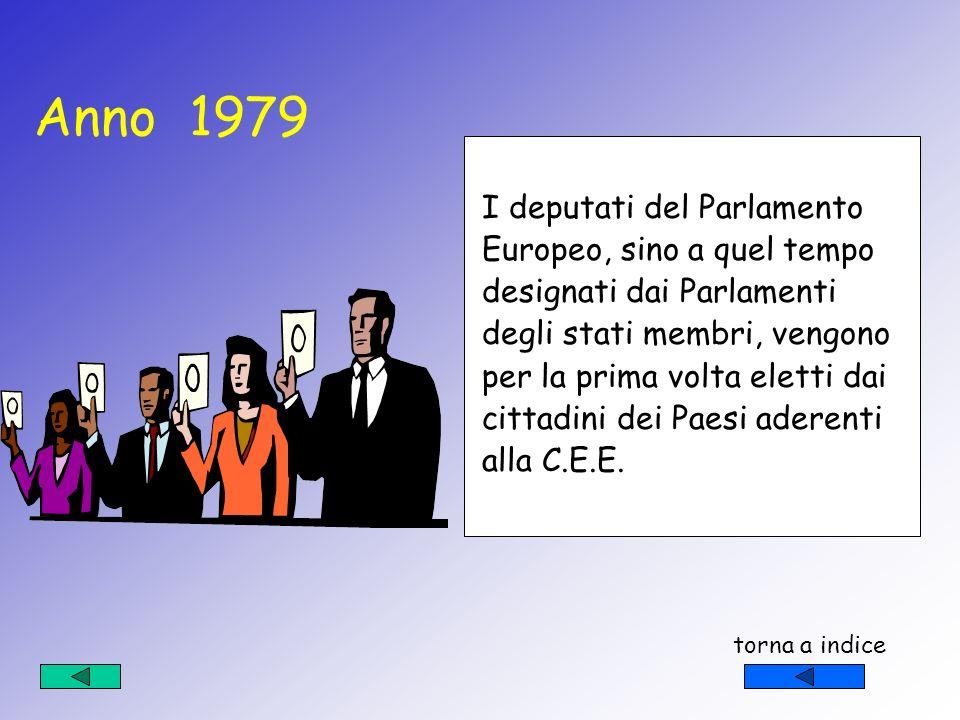 Nel 1957 vengono firmati i trattati che portano alla nascita … …della C.E.E.il cui e scopo principale è quello di creare un mercato comune dellE.U.R.A