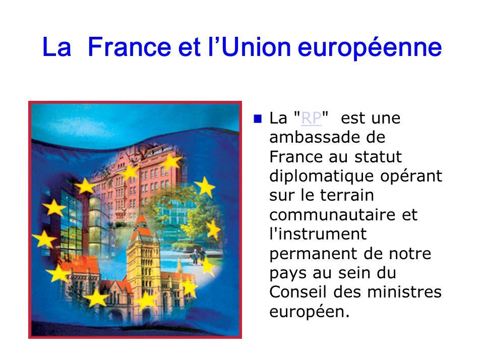 La France et lUnion européenne La
