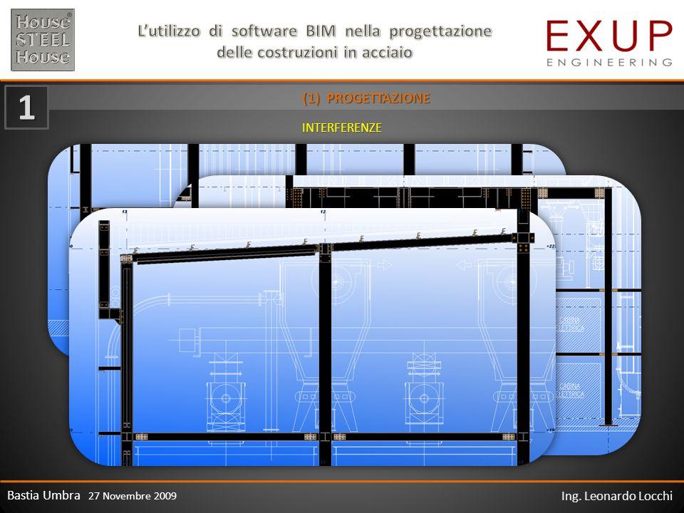 Bastia Umbra 27 Novembre 2009 Ing. Leonardo Locchi (1) PROGETTAZIONE 1 INTERFERENZE