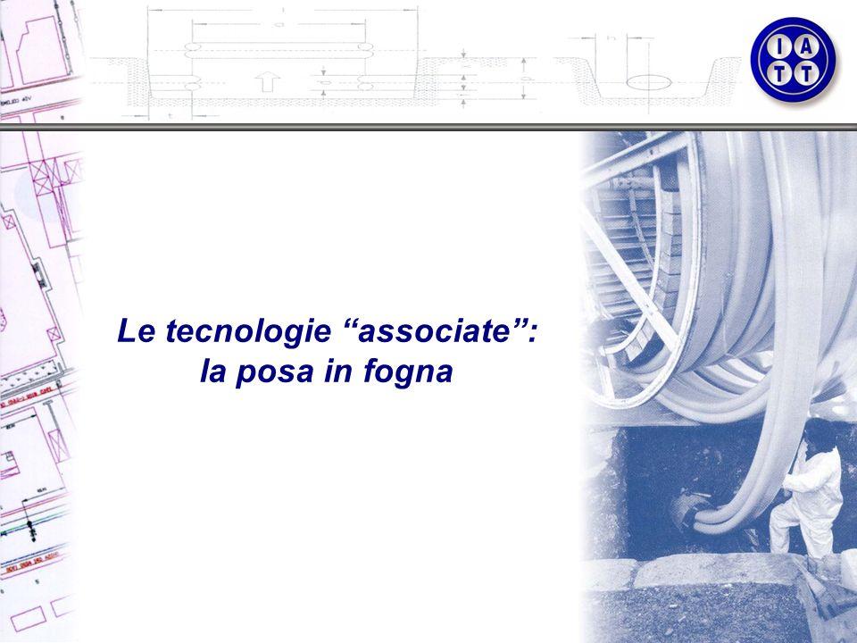 Le tecnologie associate: la posa in fogna