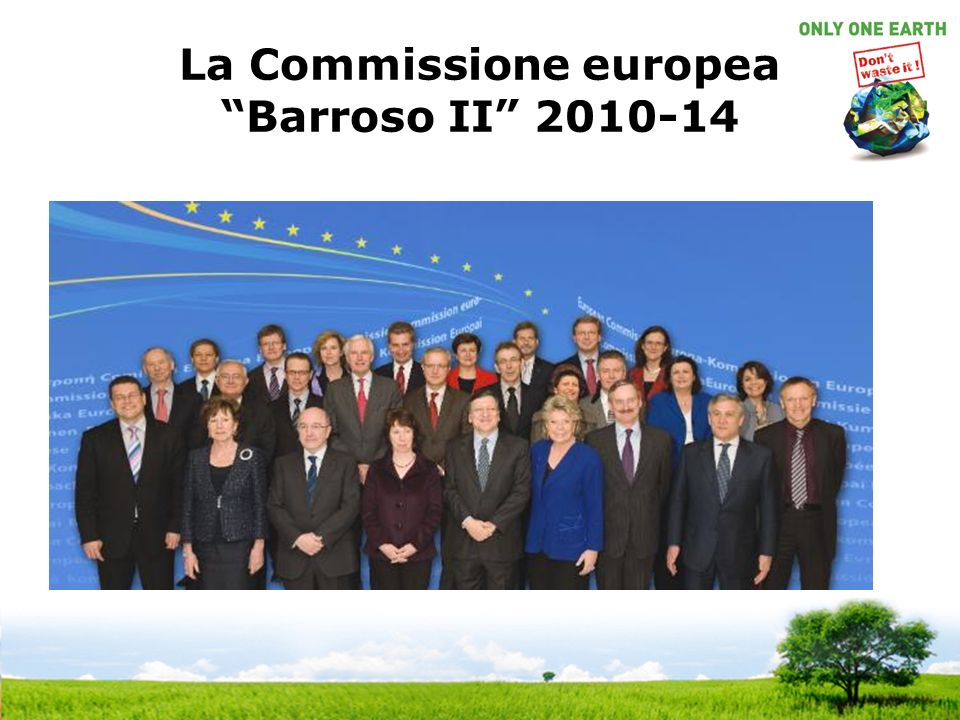 La Commissione europea Barroso II 2010-14