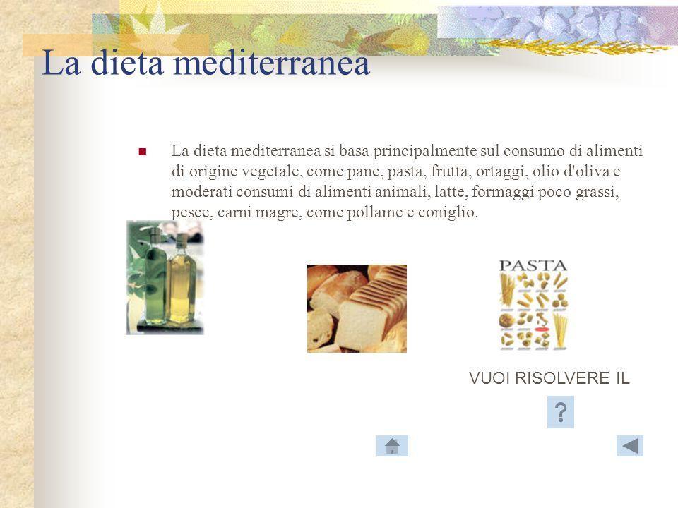 I principi alimentari Una dieta equilibrata non dipende unicamente da un sufficiente apporto calorico adeguato essa deve anche rifornire lorganismo di