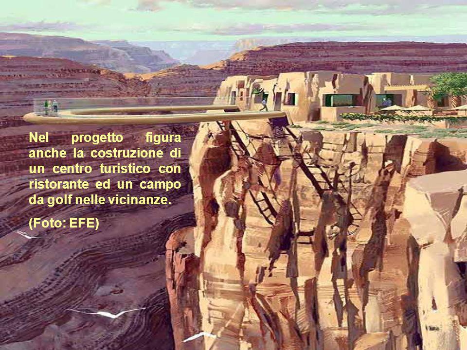 Nel progetto figura anche la costruzione di un centro turistico con ristorante ed un campo da golf nelle vicinanze. (Foto: EFE)