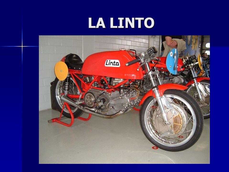La prima moto in fase di sviluppo fu portata in gara nel 1968 da Alberto Pagani, Campione di grande livello proveniente dall'Aermacchi che viveva nell