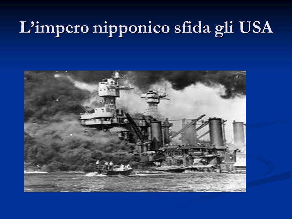 Limpero nipponico sfida gli USA
