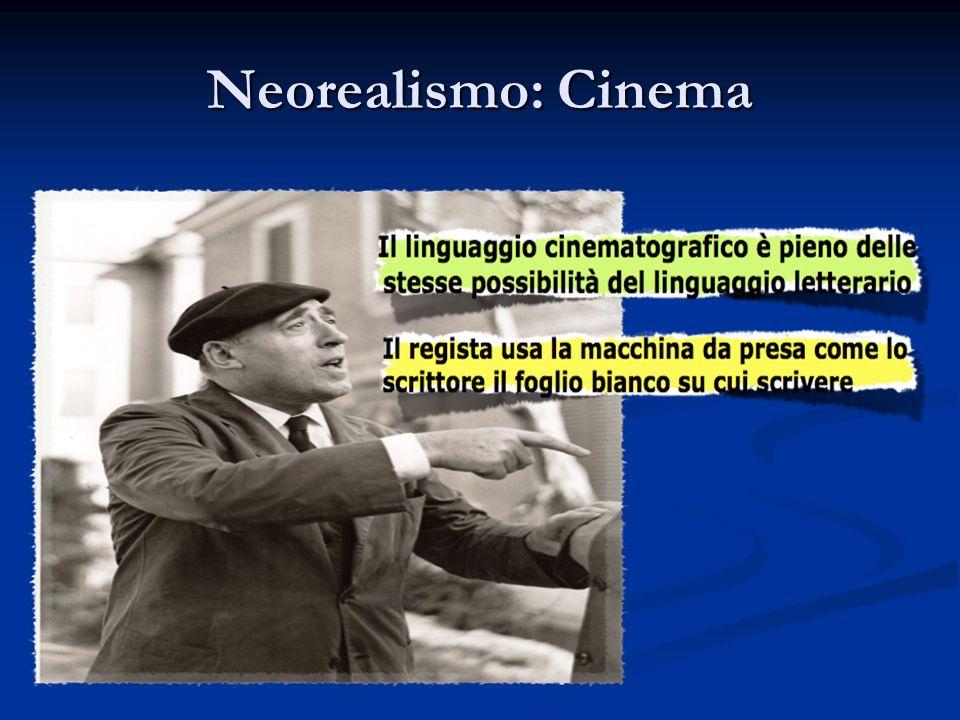 Neorealismo: Cinema