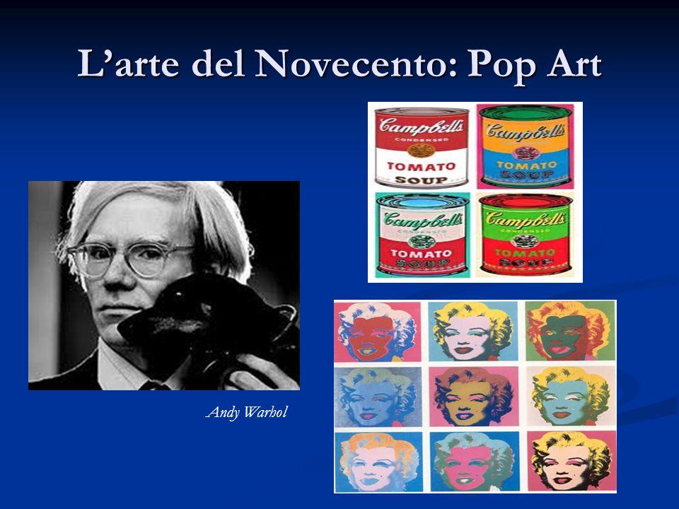 Larte del Novecento: Pop Art Andy Warhol