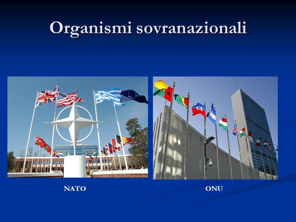 Organismi sovranazionali NATOONU