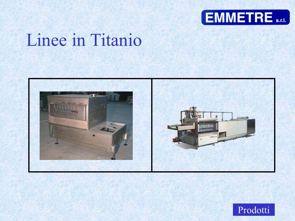 Linee in Titanio Prodotti