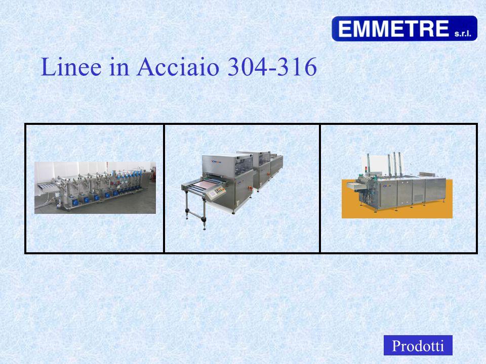 Linee in Acciaio 304-316 Prodotti