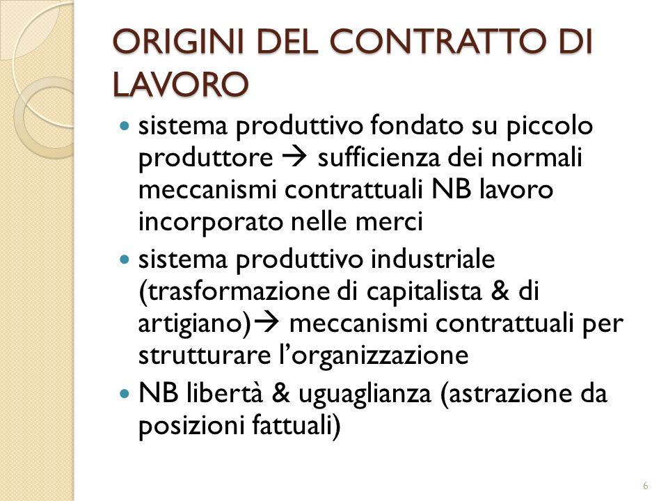 ERRORE lavoratore: essenziale NB ambito variabile NB ruolo di esecuzione datore: eccezionale 17