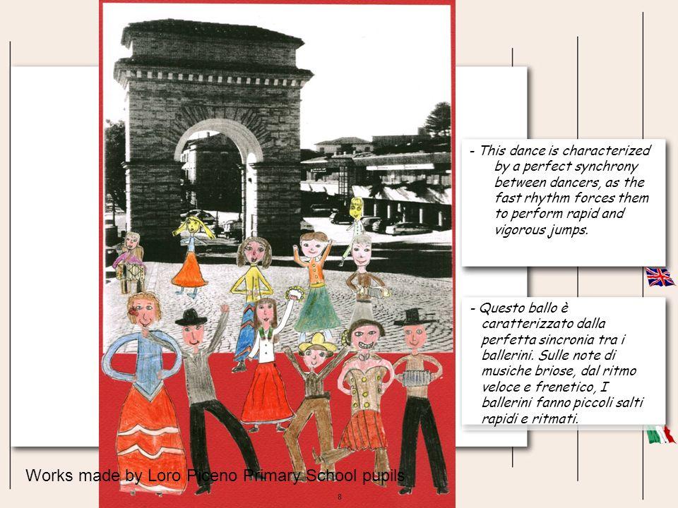 49 Gli alunni della Scuola Primaria di Urbisaglia vi presentano i costumi tipici del saltarello marchigiano.