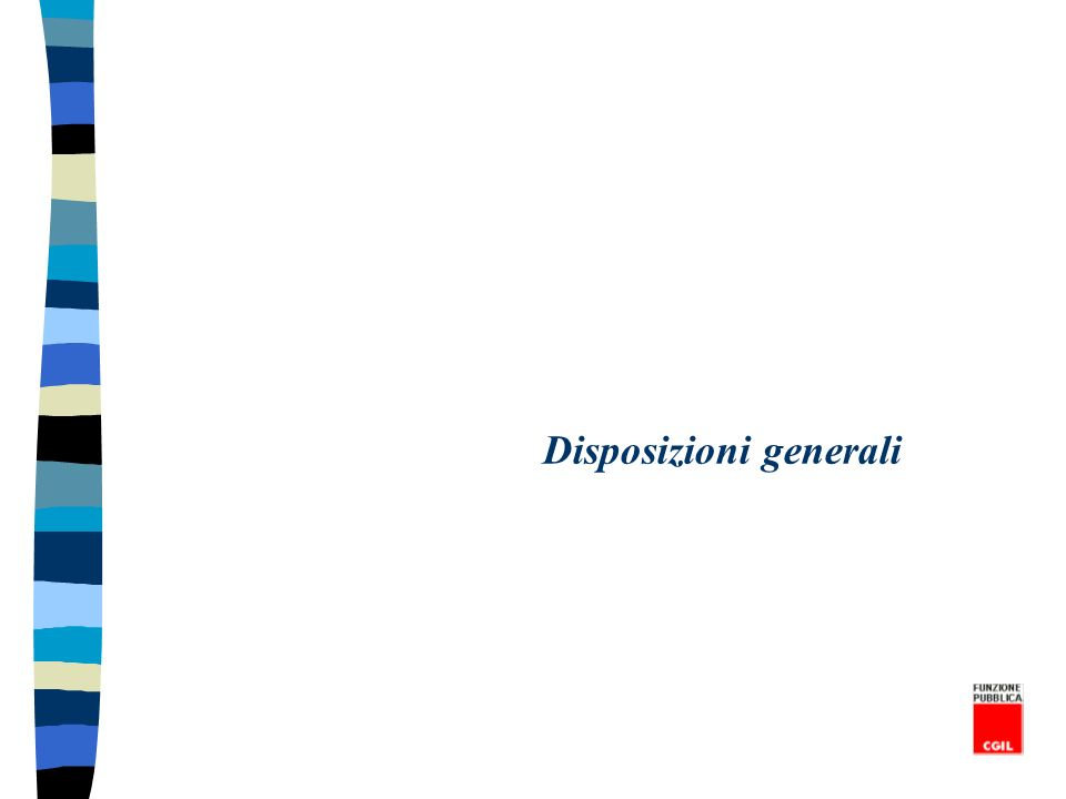 Norme di garanzia dei servizi minimi essenziali - Art.
