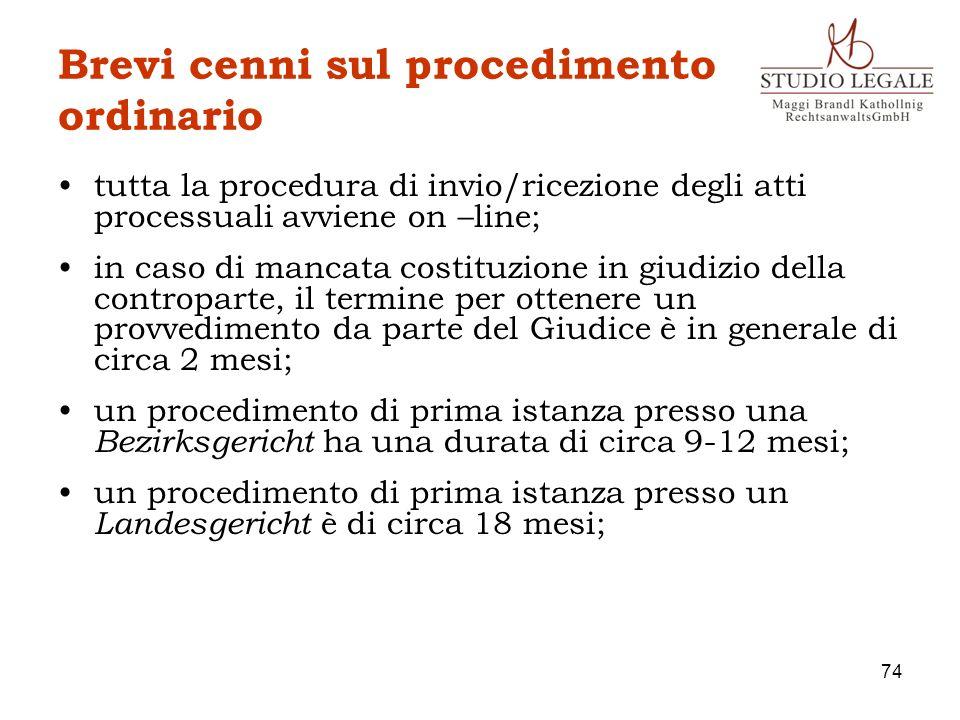 Brevi cenni sul procedimento ordinario tutta la procedura di invio/ricezione degli atti processuali avviene on –line; in caso di mancata costituzione