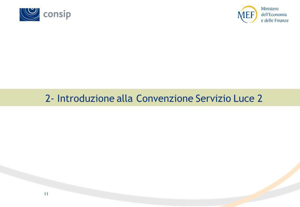 11 2- Introduzione alla Convenzione Servizio Luce 2
