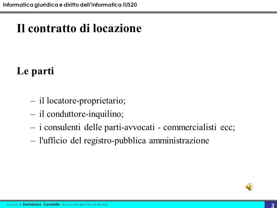 Informatica giuridica e diritto dellinformatica IUS20 a cura di Domenico Condello Avvocato del Foro di Roma 34 con firma elettronica 2.