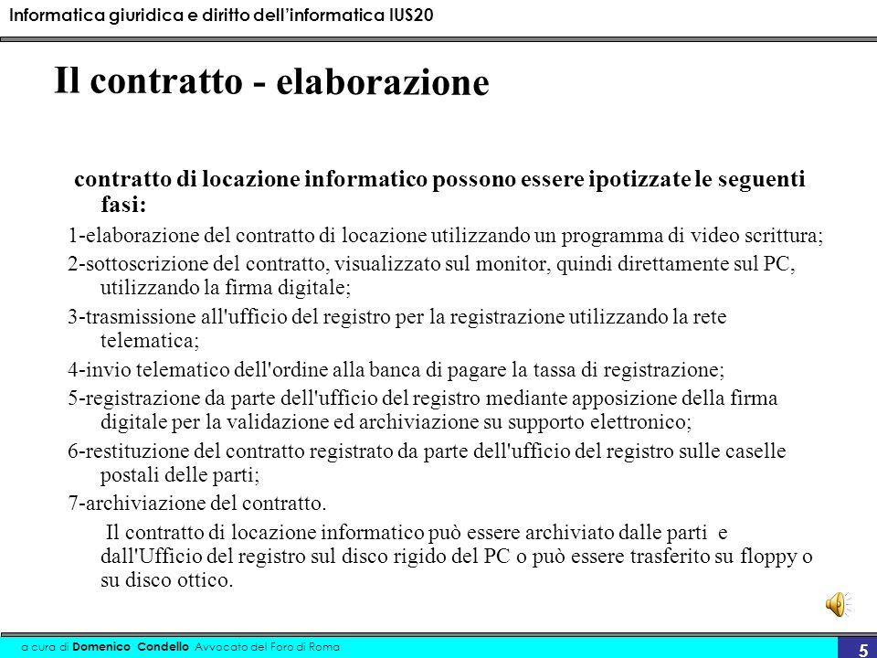 Informatica giuridica e diritto dellinformatica IUS20 a cura di Domenico Condello Avvocato del Foro di Roma 36 Codice dellamministrazione digitale DLgs 82/05 Art.