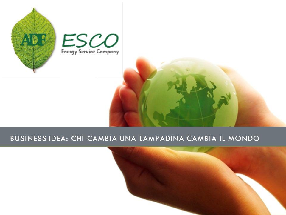 BUSINESS IDEA: CHI CAMBIA UNA LAMPADINA CAMBIA IL MONDO