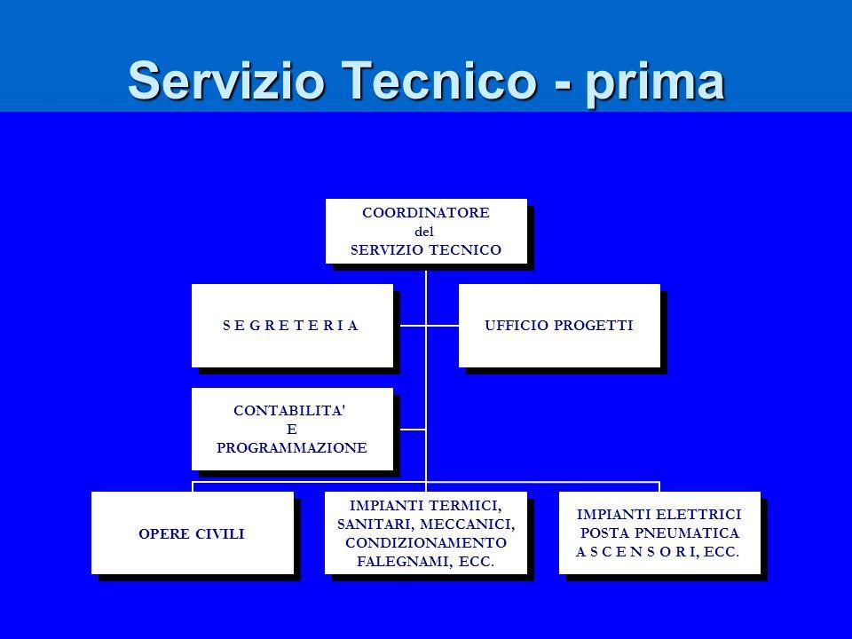 Servizio Tecnico - prima