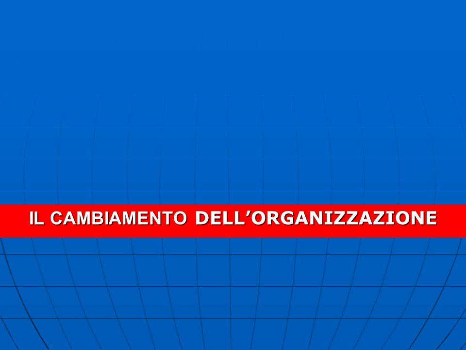 B.P. R. e la Struttura Organizzativa del Servizio Tecnico B.P.R.