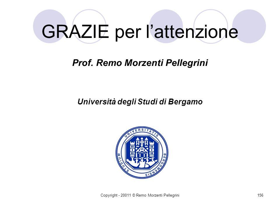 Copyright - 20011 © Remo Morzenti Pellegrini155 Documento Unico di Regolarità Contributiva (DURC) Lart. 125 – che disciplina per lappunto le acquisizi
