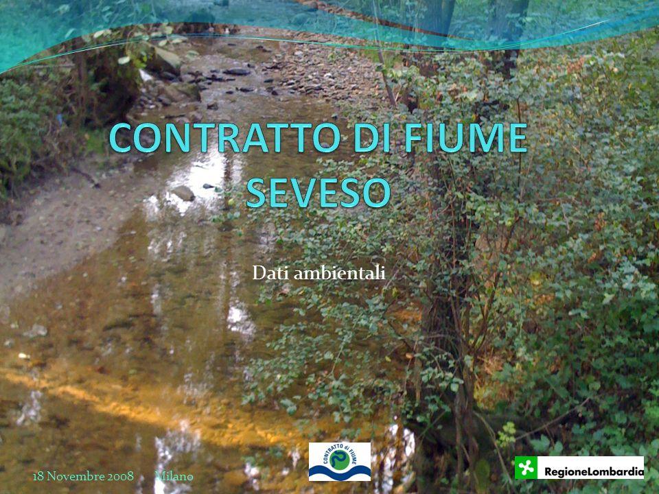 Dati ambientali 18 Novembre 2008 Milano