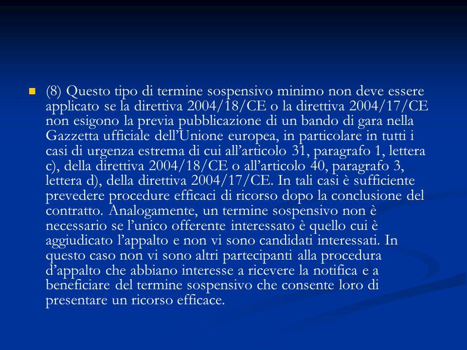 Art.11 (fasi delle procedure di affidamento)(artt.
