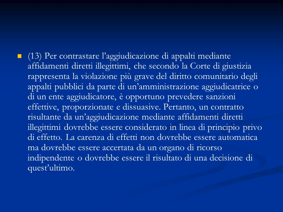 ART.11 Sanzioni alternative (art. 44, comma 1, lett.