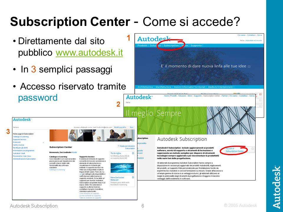 17 Autodesk Subscription Nuove regole per lapplicazione dello Sconto Quantità e per la gestione dei contratti Autodesk Subscription non Subscription Only