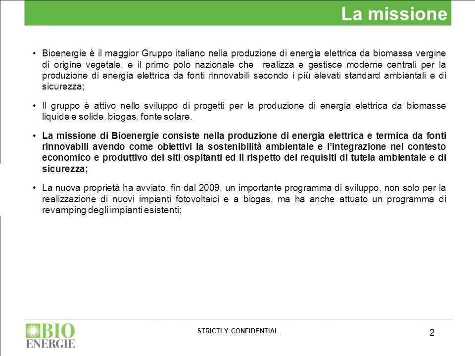 Bioenergie è il maggior Gruppo italiano nella produzione di energia elettrica da biomassa vergine di origine vegetale, e il primo polo nazionale che r