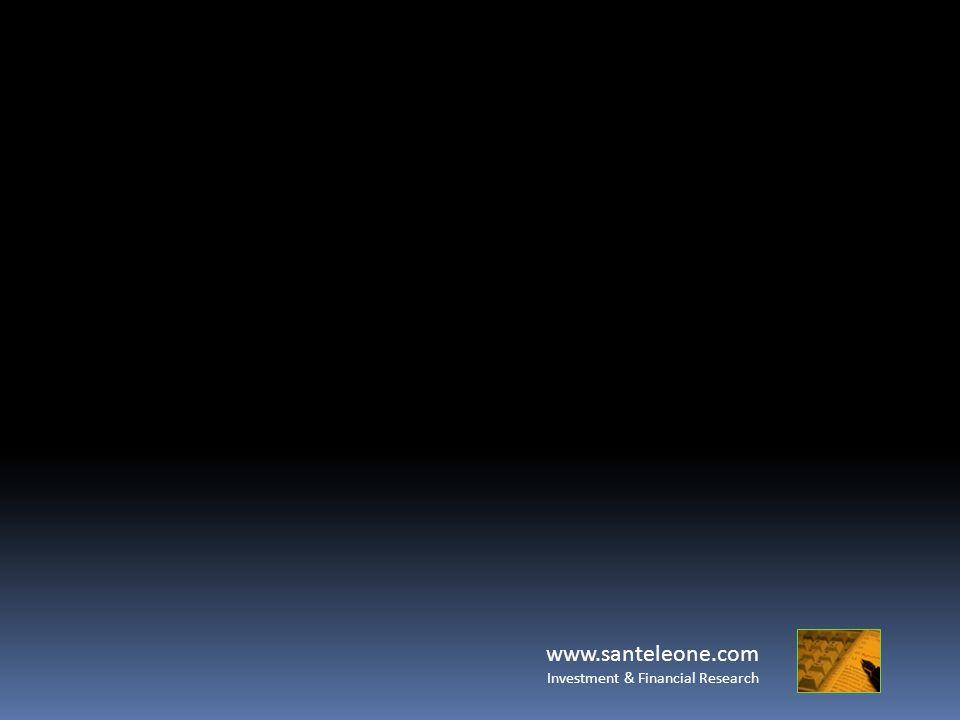 www.santeleone.com Investment & Financial Research Margine ed Effetto Leva Solo una parte del Capitale necessario per acquistare/vendere il contratto Margine di Garanzia (es.