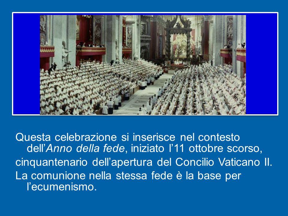 come pure gli studenti dellEcumenical Institute of Bossey, in visita a Roma per approfondire la loro conoscenza della Chiesa cattolica, e i giovani ortodossi e ortodossi orientali che qui studiano.