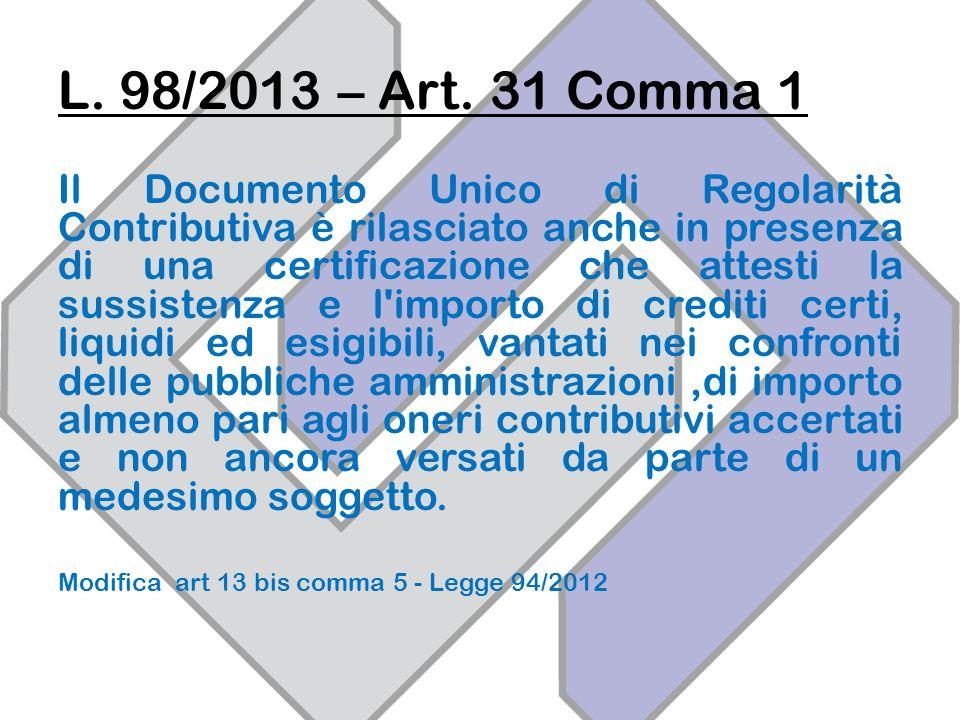 L.98/2013 – Art.