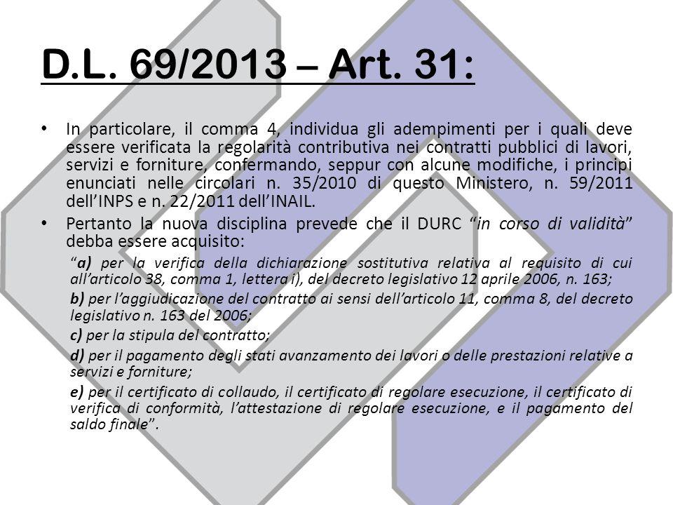 D.L.69/2013 – Art.