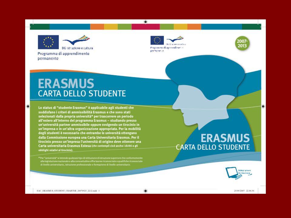 Carta dello studente Erasmus: diritti e doveri