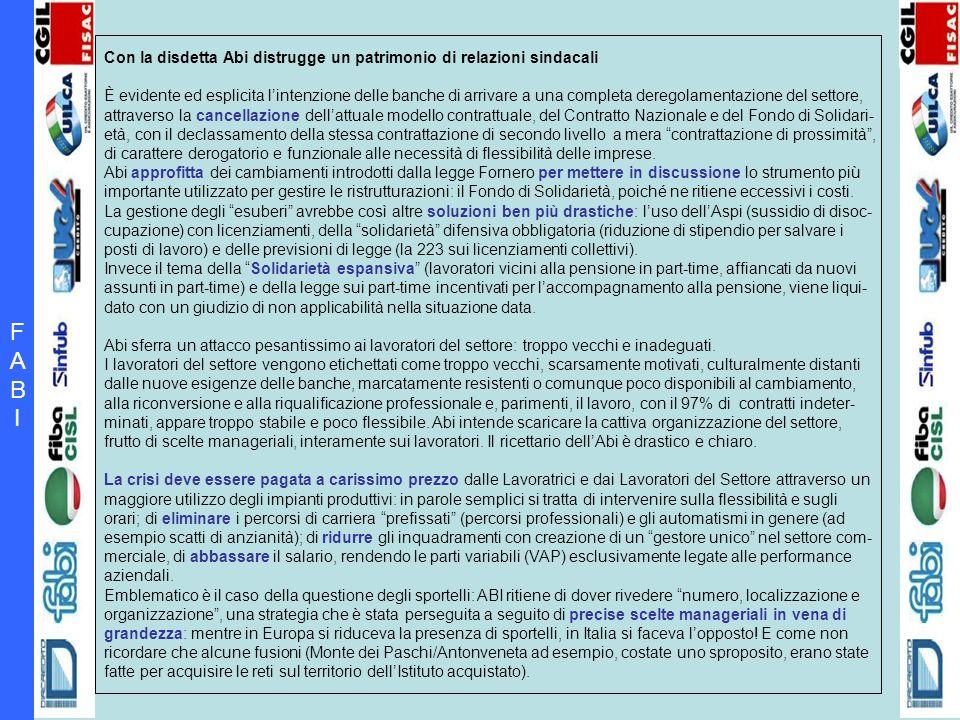 FABIFABI Lo stato del settore: fra crisi aziendali e manager inadeguati.