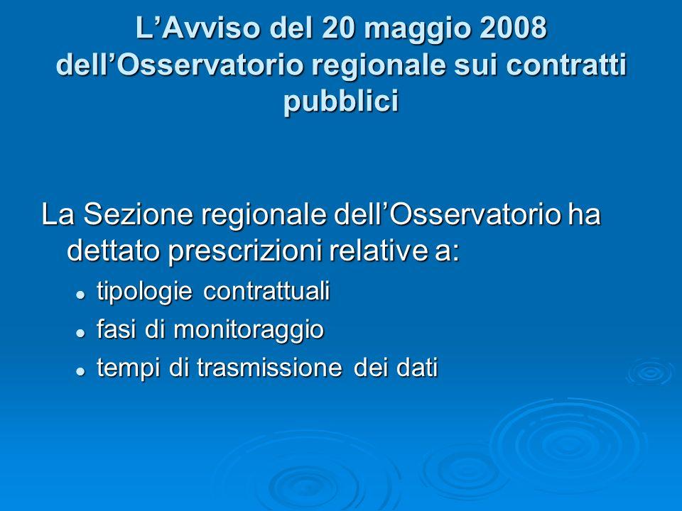 Il Comunicato del 4 aprile 2008 dellAutorità per la Vigilanza LAutorità parte dal presupposto per cui il Codice dei contratti pubblici ha esteso la vi