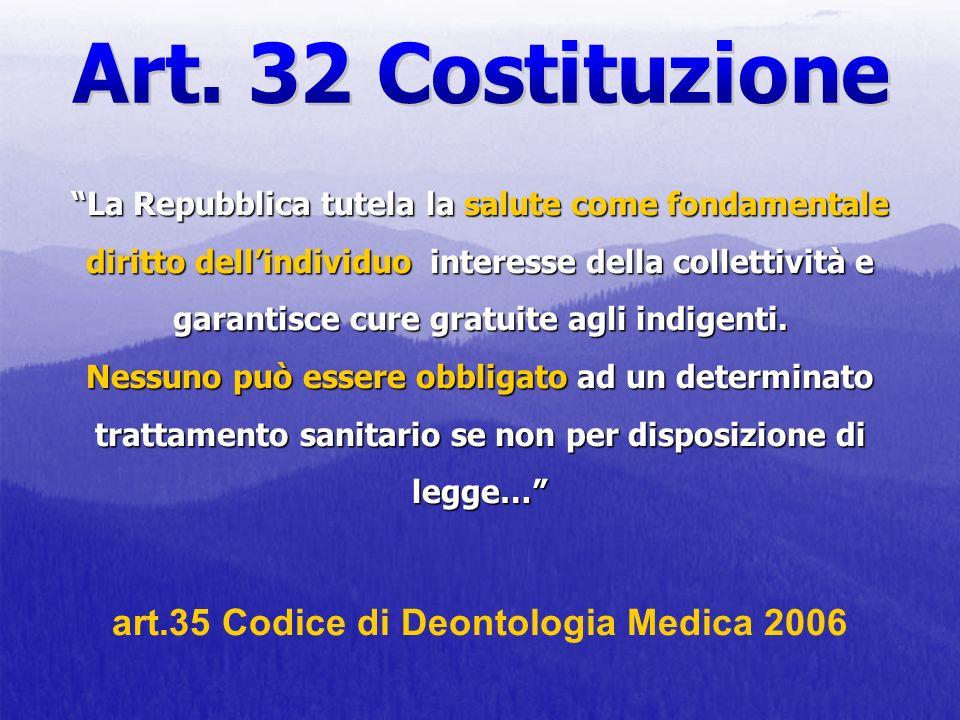 La Repubblica tutela la salute come fondamentale diritto dellindividuo interesse della collettività e garantisce cure gratuite agli indigenti. Nessuno