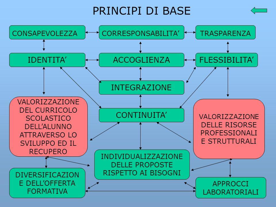 Il piano dellofferta formativa (P.O.F.) è il documento fondamentale costitutivo dellidentità progettuale delle singole istituzioni.
