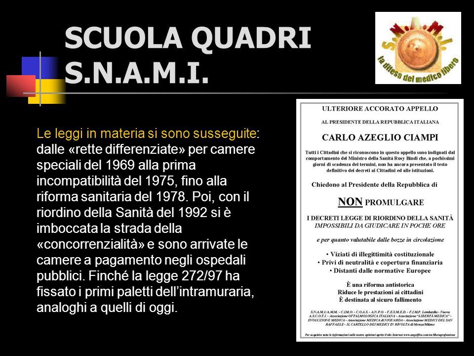 SCUOLA QUADRI S.N.A.M.I.ABBIAMO COMBATTUTO CONTRO LA 229 ADESSO CAMBIATELA...