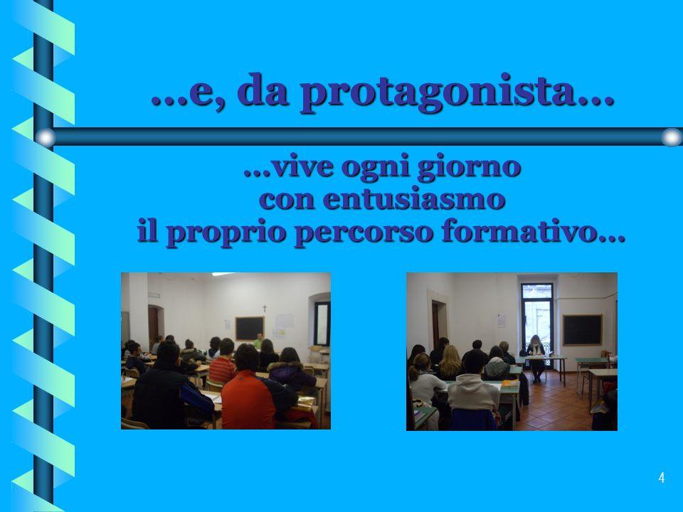 5 …nella certezza di … … un insegnamento qualificato e dotato di tecnologie multimediali in linea con gli standard europei…