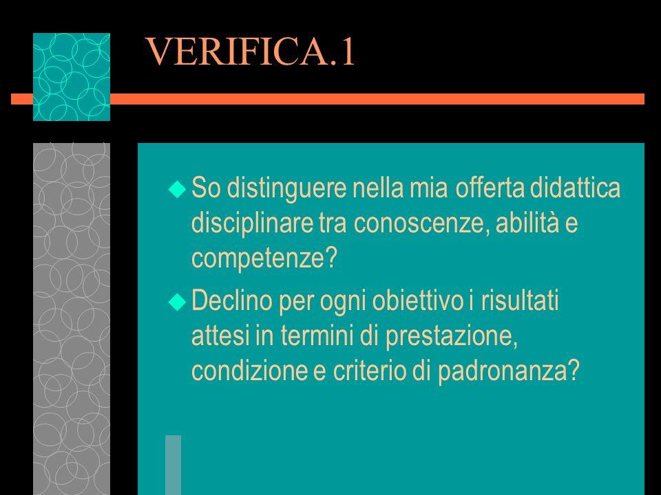 VERIFICA.6 u Progetto insieme alla componente produttiva.
