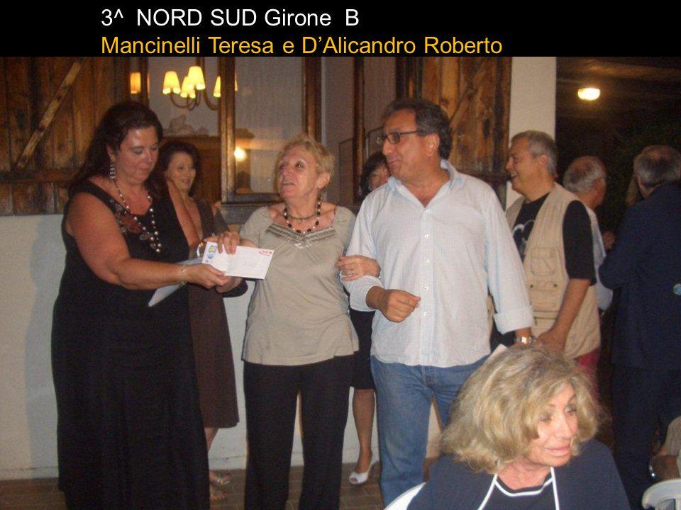2^ Est Ovest Girone B Mancinelli Sergio e De Benedictis Roberto